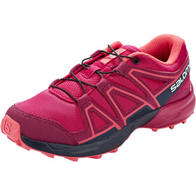 Salomon Speedcross Chaussures running Enfant, cerise./navy blazer/dubarry